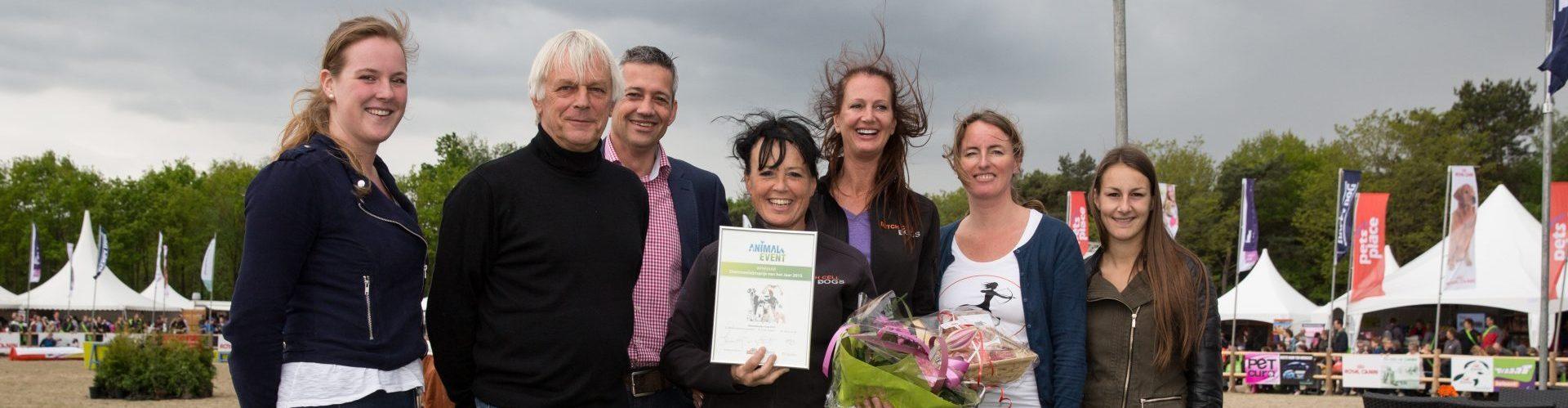 Stichting Dutch Cell Dogs, winnaar Dierenwelzijnsprijs 2015
