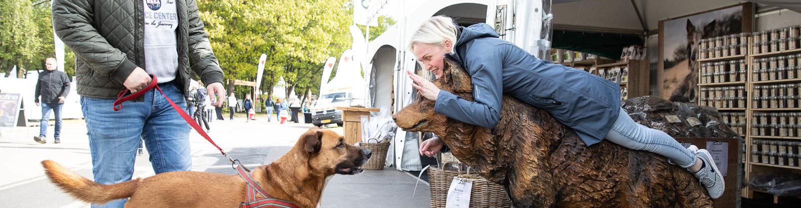 Houten hond(2)