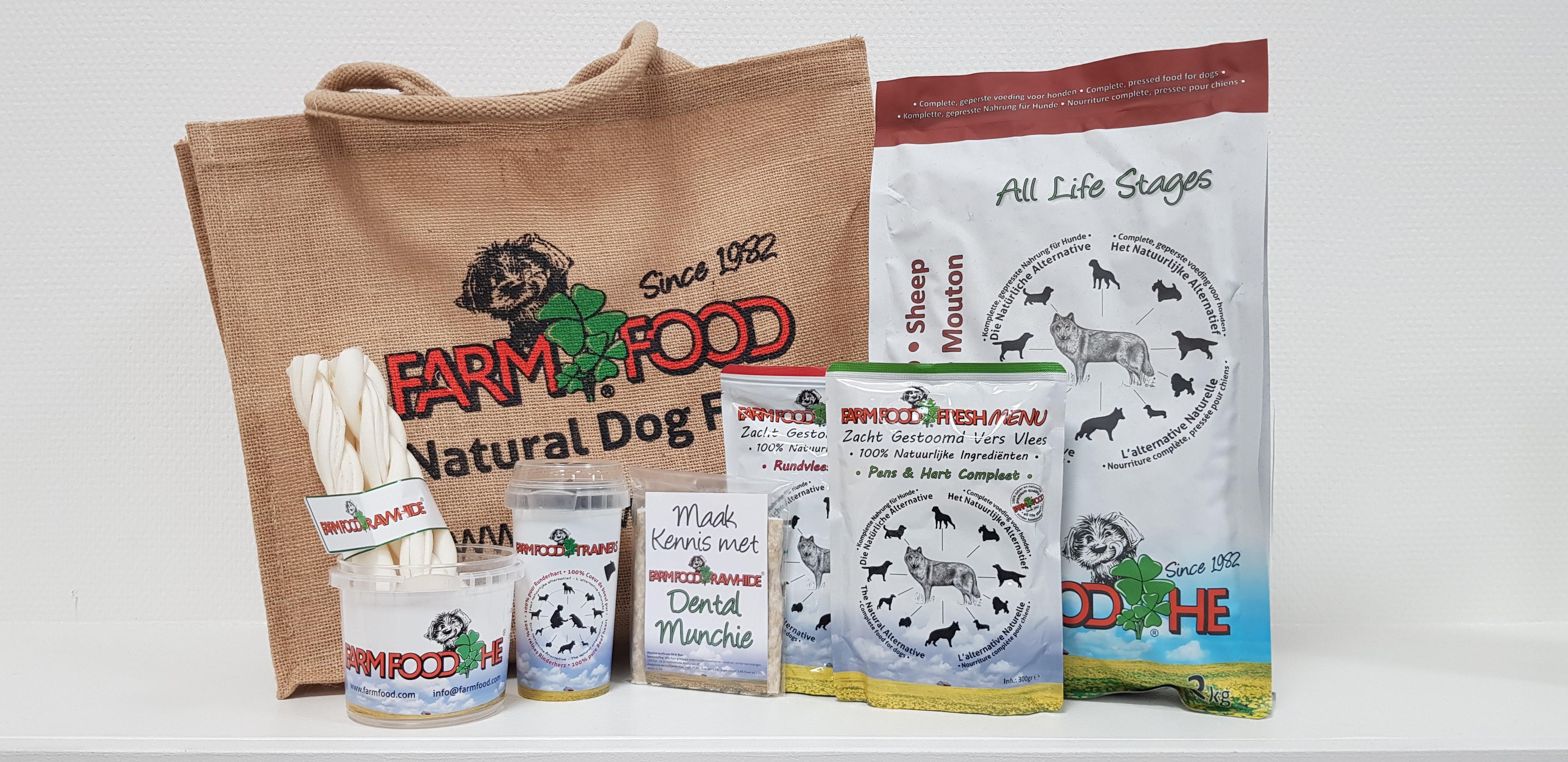 Farm Food voerpakket voor je hond - Animal Event 2020